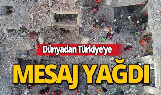 Dünyadan Türkiye'ye taziye mesajları