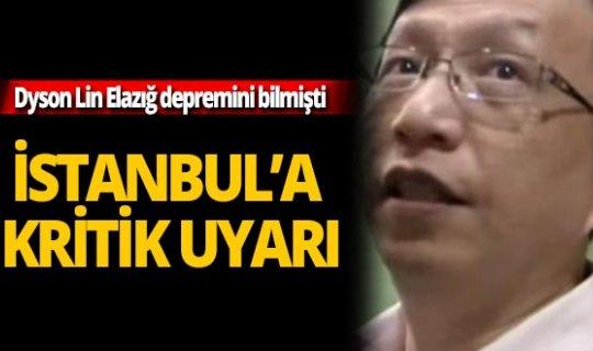 Dyson Lin'den İstanbul uyarısı!