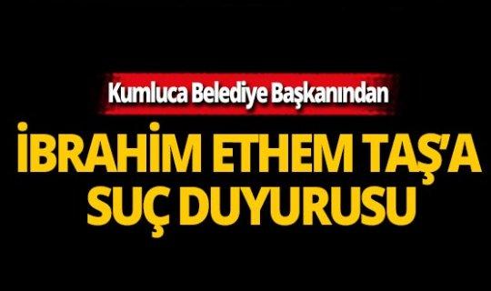 Başkan Köleoğlu'ndan il başkanı Taş'a suç duyurusu