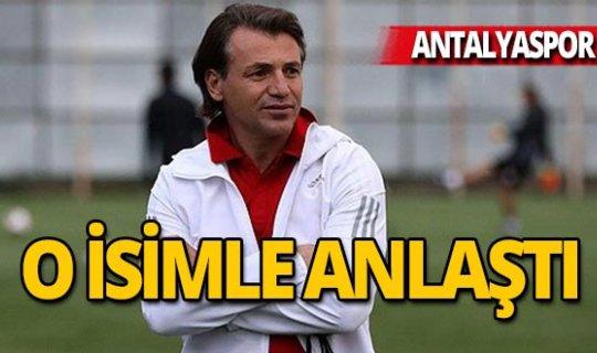 İşte Antalyaspor'un yeni teknik direktörü!