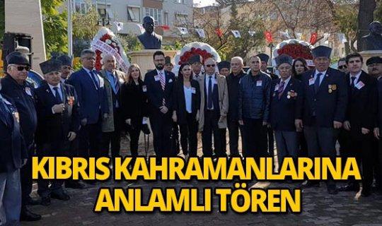 Kıbrıs'ın kahramanlarına Antalya'da anlamlı tören