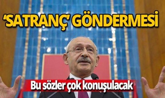 Kılıçdaroğlu'ndan Erdoğan'a 'satranç' göndermesi