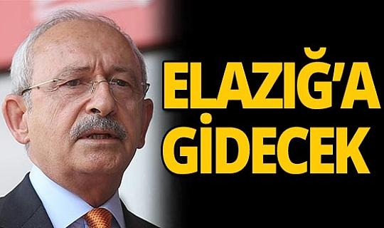 Kılıçdaroğlu yarın Elazığ'da
