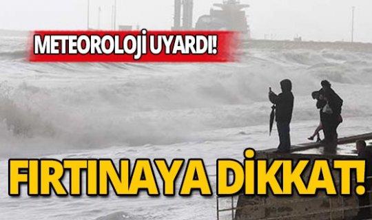 Meteoroloji'den Akdeniz için kritik uyarı!