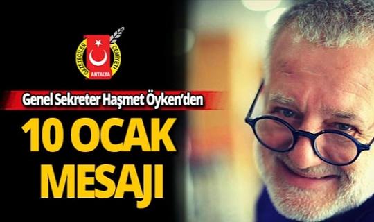 """AGC Genel Sekreteri Öyken: """"Bayram değil, mücadele günü"""""""