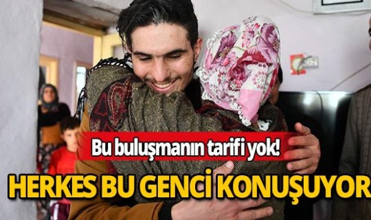 Tüm Türkiye bu Suriyeli genci konuşuyor!
