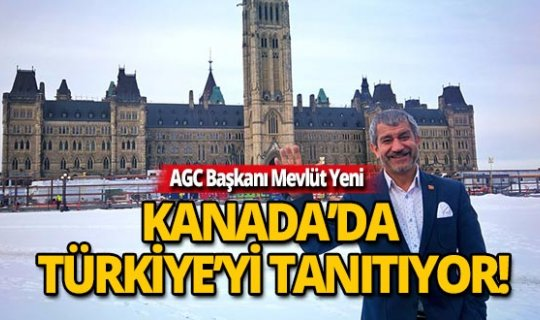 Başkan Yeni: Türkiye'nin potansiyeli çok yüksek , tanıtımı eksik!