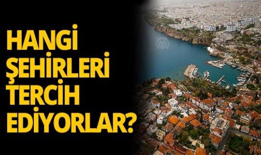 Yabancılar hangi şehirlerden ev alıyor?