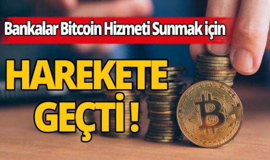 40'dan fazla banka Bitcoin ve Ethereum hizmeti sunmak için başvurdu!