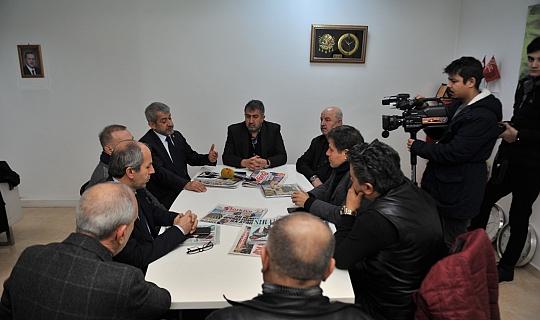 Akdeniz Gazeteciler Federasyonu'ndan Doğu Akdeniz çıkarması