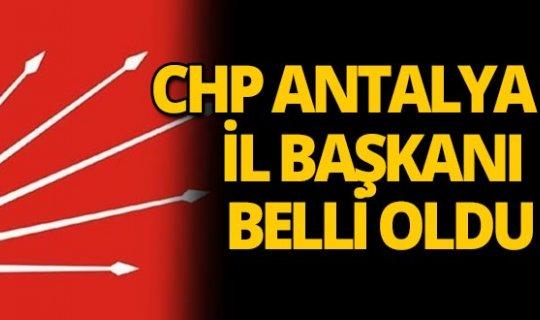 CHP Antalya İl Başkanı Nusret Bayar oldu