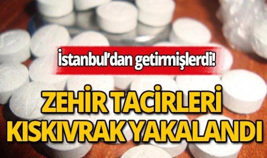 Antalya'da 14 bin 672 adet uyuşturucu ele geçirildi