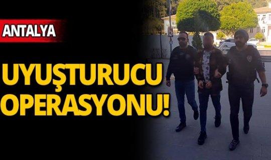 Antalya'da eve baskın!