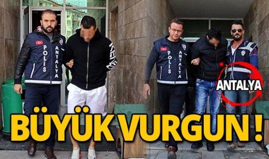 Antalya'da milyonluk çelik kasa hırsızlığı