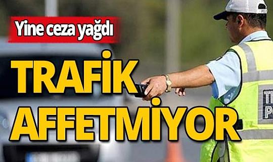 Antalya'daki trafik denetiminde sürücülere ceza yağdı