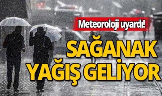 Antalya dikkat: Sağanak yağış geliyor!