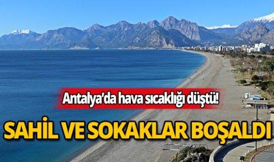 Antalya'da hava sıcaklıkları ne zaman yükselecek?