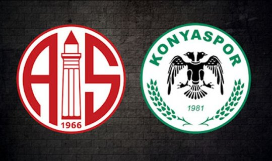 Antalyaspor: 0  Konyaspor: 0