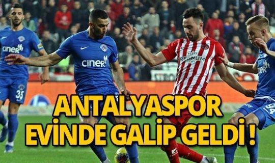 Antalyaspor Kasımpaşa'yı 3-1 mağlup etti