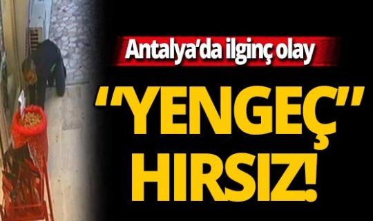 Antalya'daki hırsızlık pes dedirtti