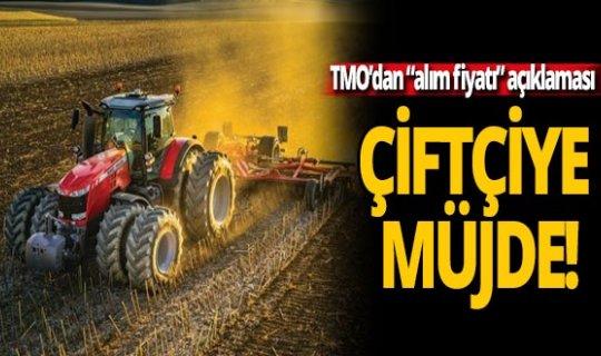 """Çiftçiye müjde! TMO'dan """"alım fiyatı"""" açıklaması"""