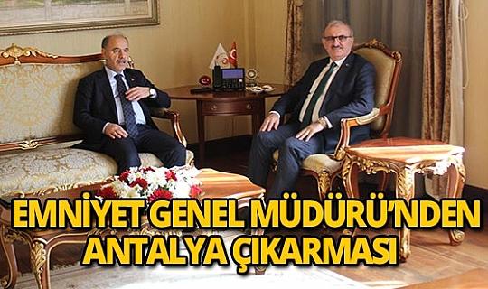 Emniyet Genel Müdürü'nden Antalya ziyareti