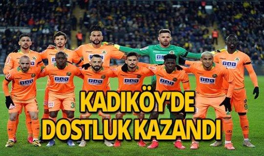 Fenerbahçe: 1 Aytemiz Alanyaspor: 1