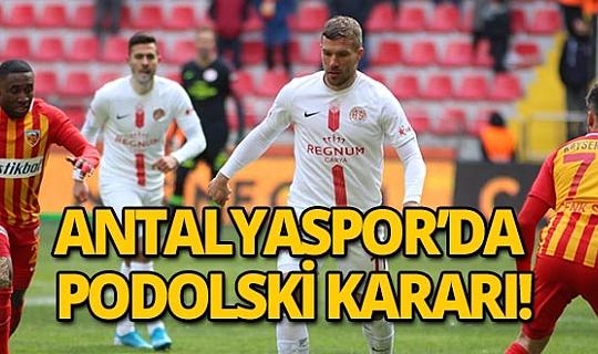 Kupada Antalyaspor'a Podolski sürprizi!
