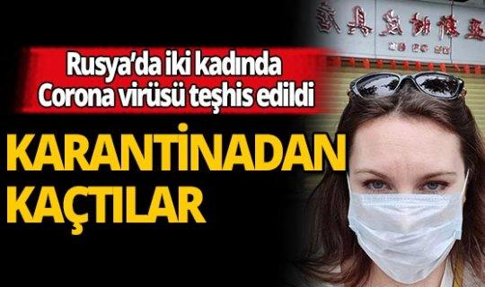 2 Rus kadın, yüzlerce insanı öldüren Corona virüs karantinasından kaçtı!