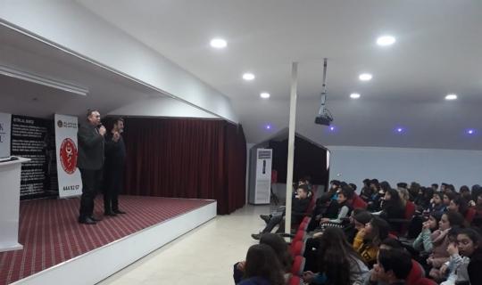 Okullarda insan-hayvan seminerleri devam ediyor