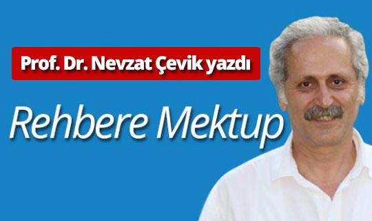 """Prof. Dr. Nevzat Çevik: """"Rehbere Mektup"""""""