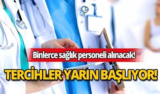 Resmi Gazete'de yayımlandı: 8 bin 844 sağlık personeli atanacak!