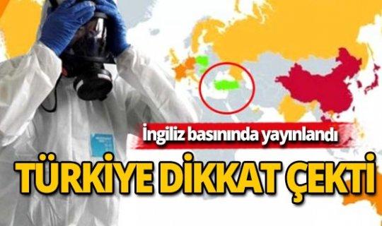 Salgın hızla yayılırken İngiliz basınından Türkiye önermesi