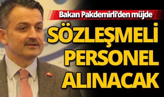 Tarım ve Orman Bakanı Pakdemirli Antalya'da