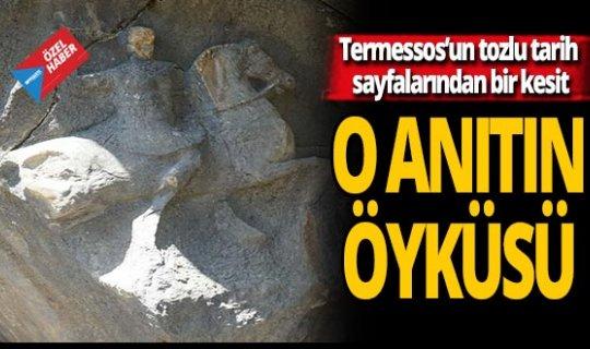 Termessos'ta yatan bir tarih: O anıtın öyküsü...
