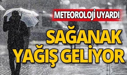 Akdeniz dikkat: Sağanak Yağış geliyor