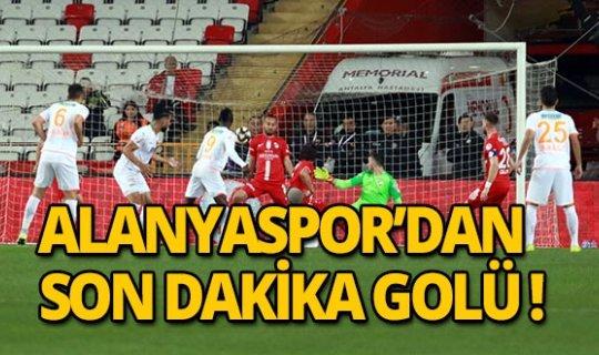 Alanyaspor 90+2' de Antalyaspor'u mağlup etti