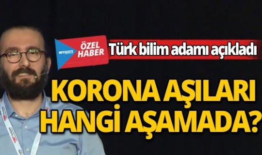 Almanya'da araştırmalar yapan Türk bilim adamı korona aşısının aşamalarını anlattı