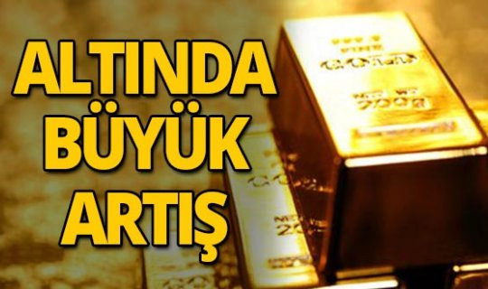 Altının kilogramı 329 bin 600 liraya yükseldi