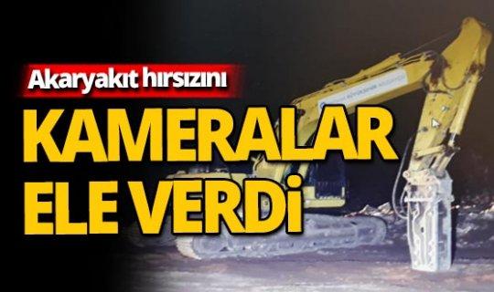 Antalya'da akaryakıt hırsızlığı