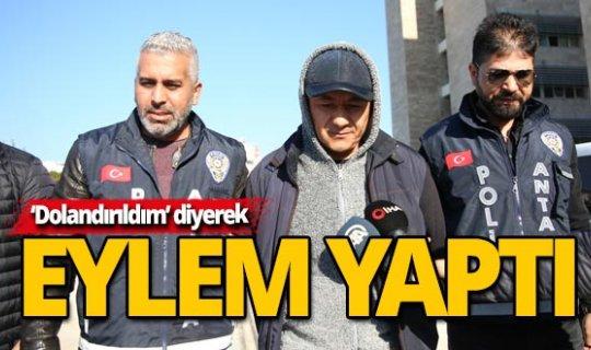 Antalya'da banka soygunu