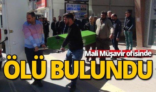 Antalya'da Mali Müşavir bürosunda ölü bulundu