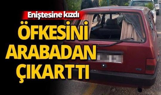 Antalya'da öfkeli kayın biraderden  sopalı saldırı