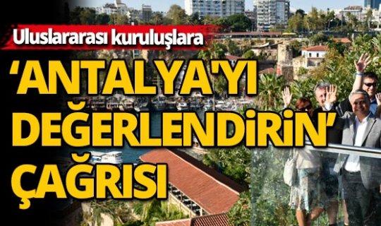 Antalya Muratpaşa'dan, ABD ve İngiltere'ye çağrı