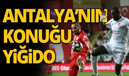 Antalyaspor'un konuğu Yiğido