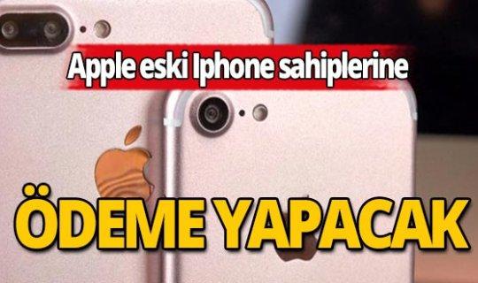 Apple eski Iphone sahiplerine ödeme yapacak!