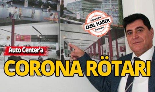 Auto Center'a corona rötarı