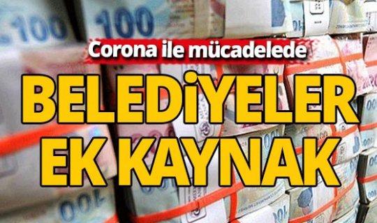 Belediyelere koronavirüsle mücadelede destek
