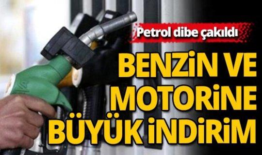 Benzin ve motorin fiyatlarına büyük indirim geliyor
