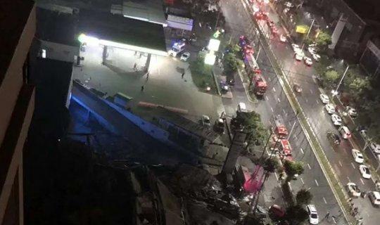 Çin'de otel binası aniden çöktü: 70 kişi enkaz aldı